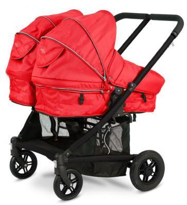 Коляска-трансформер для двоих детей Valco baby Zee Spark Duo (strawberry waffle) (Valco Baby)