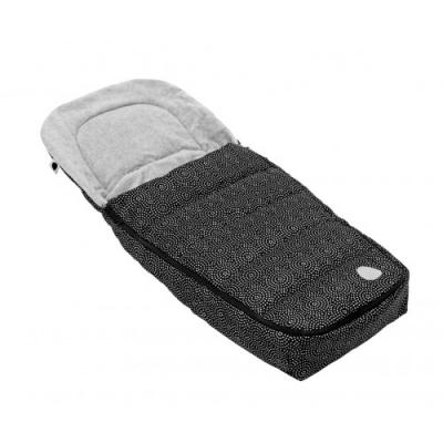 Конверт в коляску Seed Pli Mg Foot Muff (black - w/print)