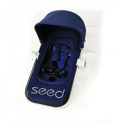 Прогулочный блок c подножкой Seed Papilio (navy)