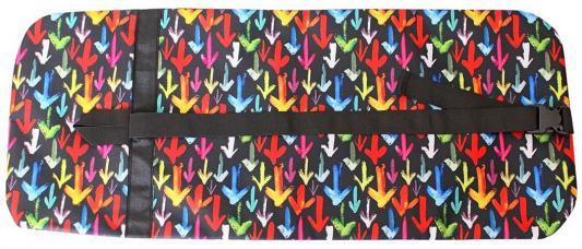 Купить Чехол-портмоне Y-SCOO для самоката 125 - Разноцветные стрелки складной, Аксессуары для самокатов