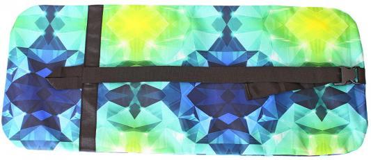 Чехол-портмоне Y-SCOO для самоката 180 - Diamond Emerald разноцветный складной