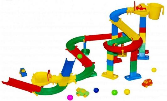 Набор для песочниц Wader Горка для шариков 2 38265