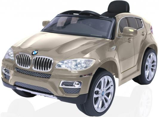 Электромобиль RT на 4-х колесах BMW X6 12V R/C champagne 258 r toys bmw x6