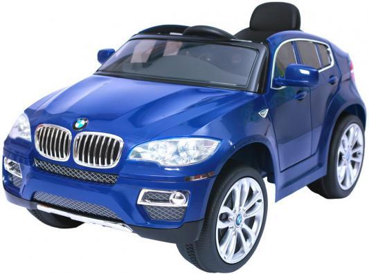 Электромобиль RT на 4-х колесах BMW X6 12V R/C  blue 258