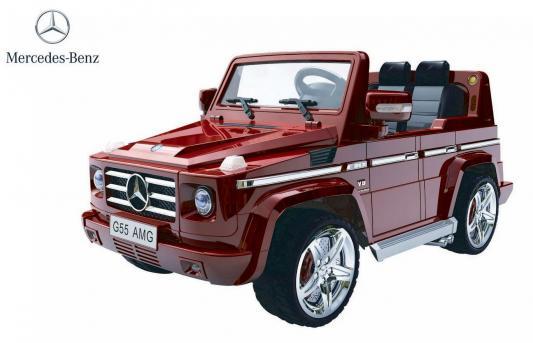 Электромобиль RT Mercedes-Benz AMG NEW Version 12V R/C red с резиновыми колесами DMD-G55