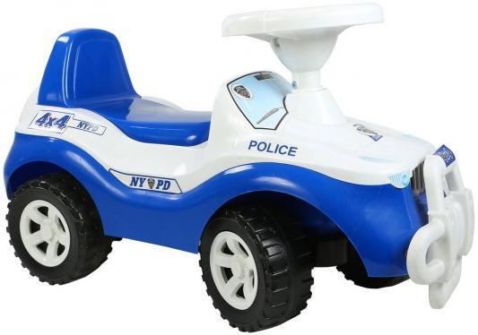 Каталка-машинка Rich Toys Джипик POLICE от 8 месяцев пластик ОР105 бело-синяя