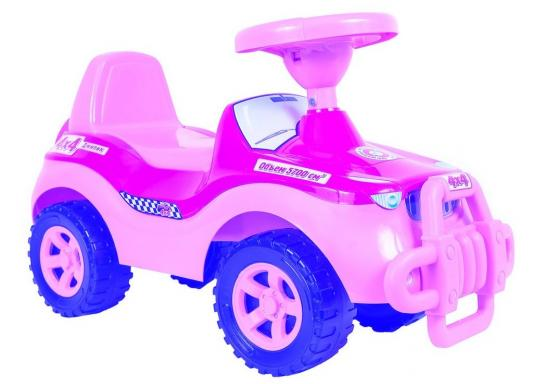 Каталка-машинка R-Toys Джипик розовый от 8 месяцев пластик ОР105