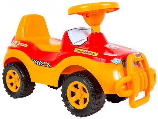 Каталка-машинка Rich Toys Джипик POLICE красный от 8 месяцев пластик ОР105 каталка orion toys каталка джипик полиция 105 пол