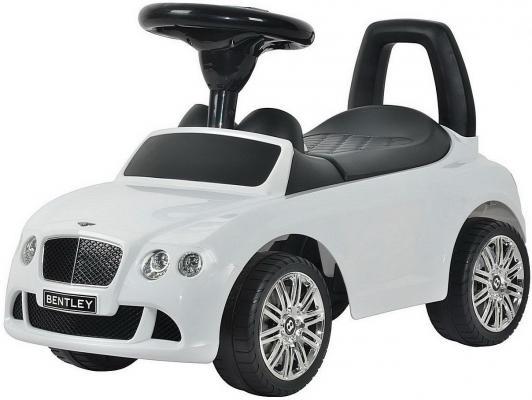 Каталка-машинка R-Toys Bentley белый от 1 года пластик 326 каталка машинка r toys bentley пластик от 1 года музыкальная красный 326