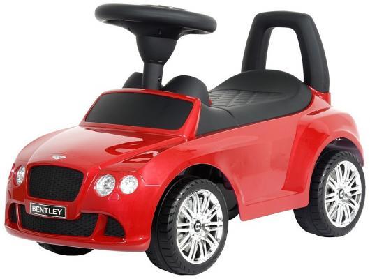 Каталка-машинка R-Toys Bentley красный от 1 года пластик 326 rt 326 каталка автомобиль bentley с музыкой красный