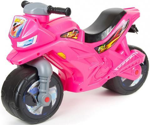 Каталка-мотоцикл Rich Toys Racer RZ 1 розовый от 18 месяцев пластик