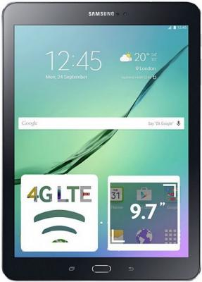 Планшет Samsung Galaxy Tab S2 SM-T819 9.7 32Gb черный Wi-Fi 3G Bluetooth LTE Android SM-T819NZKESER samsung galaxy s4 2 ядра dual 5 дюймов wi fi duos android 4 0 2 sim