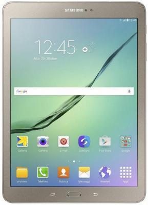 Планшет Samsung Galaxy Tab S2 9.7 32Gb золотистый Wi-Fi 3G 4G Bluetooth Android SM-T819 SM-T819NZDESER планшет samsung galaxy tab 4 7 8gb черный 3g wi fi bluetooth sm t231nykaser