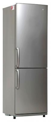 Холодильник LG GA-B409UMDA серебристый холодильник lg ga b499zvsp серебристый
