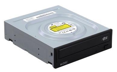 Привод для ПК DVD±RW LG GH24NSD0 SATA черный Retail