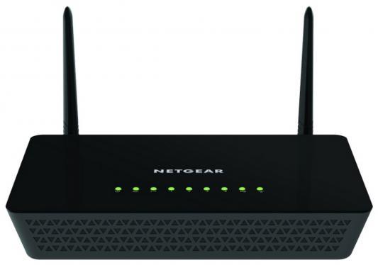 Маршрутизатор NetGear R6220-100PES 802.11aс 1167Mbps 5 ГГц 2.4 ГГц 4xLAN USB черный