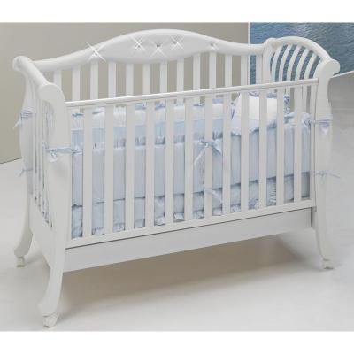 Кроватка Bambolina Divina (белый)