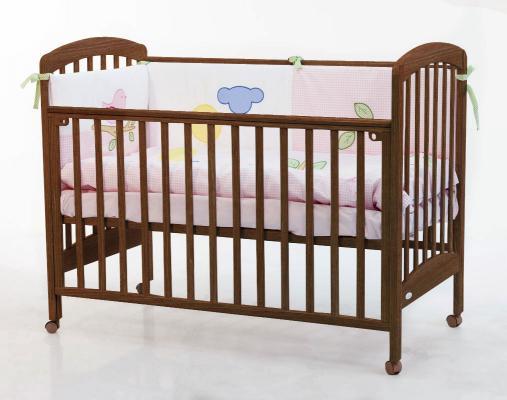 Кроватка Fiorellino Dalmatina (oreh)