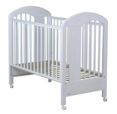 Купить Кроватка Fiorellino Fiore (white), белый, бук, Кроватки без укачивания