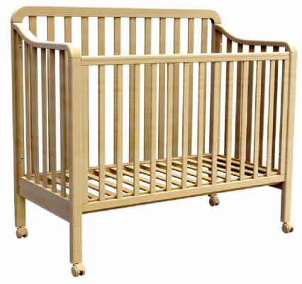 Купить Кроватка Fiorellino Nika (natur), натуральный, бук, Кроватки без укачивания