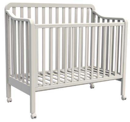 Купить Кроватка Fiorellino Nika (white), белый, бук, Кроватки без укачивания