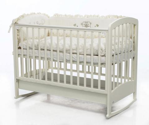 Кроватка-качалка Fiorellino Zolly (ivory)