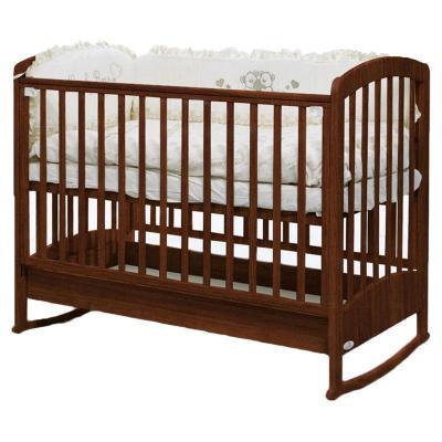 Кроватка-качалка Fiorellino Zolly (oreh)