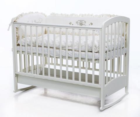 Кроватка-качалка Fiorellino Zolly (white)