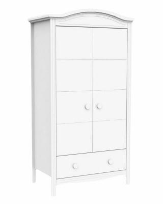 Шкаф двухстворчатый Fiorellino Slovenia (white)