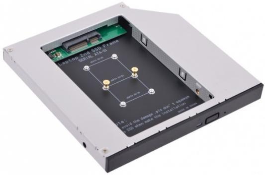 Внешний контейнер для HDD mSATA Espada MS12 стоимость