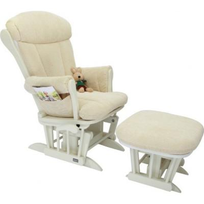 Кресло-качалка Tutti Bambini Rose GC75 (white/cream), Кресла-качалки для мамы  - купить со скидкой