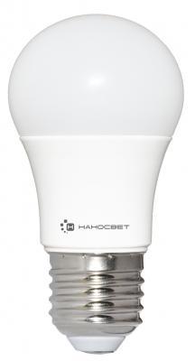 Лампа светодиодная шар Наносвет E27/827 EcoLed L198 E27 18W 2700K