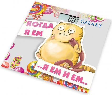 Весы напольные GALAXY GL 4830 рисунок