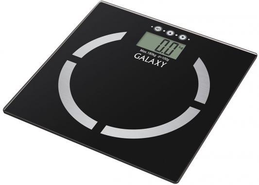 Весы напольные GALAXY GL 4850 чёрный весы напольные galaxy gl 4850 чёрный