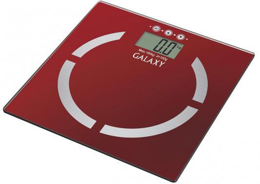 Весы напольные GALAXY GL 4851 красный