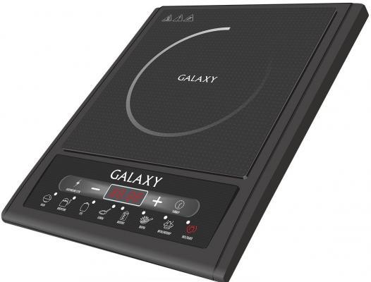 Индукционная электроплитка GALAXY GL 3053 чёрный электроплитка supra hs 201 чёрный