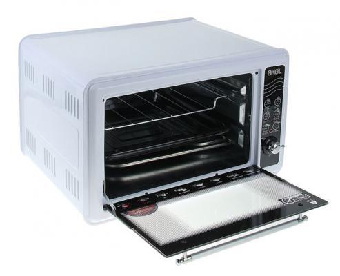 Мини-печь Akel AF-710 белый