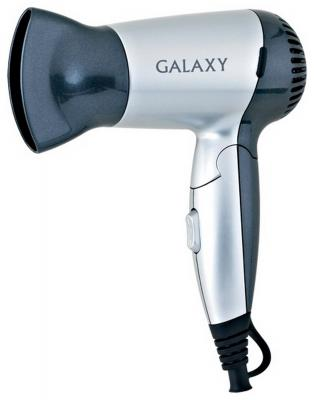 Фен GALAXY GL4303 чёрный серебристый galaxy gl8005