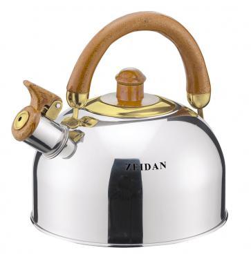 Чайник Zeidan Z-4118-01 серебристый 3.5 л нержавеющая сталь