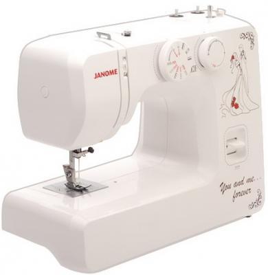 Швейная машина Janome 777 белый цена и фото