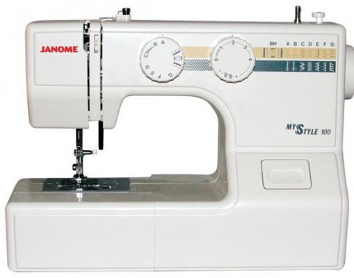 Швейная машина Janome MS 100 белый janome ms 102 отзывы