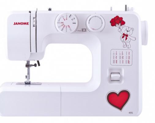 Швейная машина Janome 495 белый