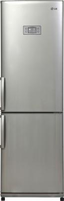 Холодильник LG GA-B409ULQA серебристый пылесос lg vc53202nhtr