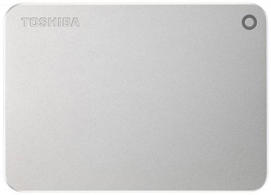Внешний жесткий диск 2.5 USB 3.0 3Tb Toshiba Canvio Premium серебристый HDTW130ECMCA внешний жесткий диск toshiba hdtp205ew3aa