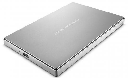 """Внешний жесткий диск 2.5"""" USB 3.1 1Tb Lacie Original Porsche Design Mobile STFD1000400 серебристый"""