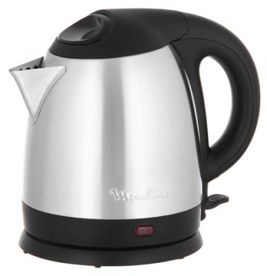 Чайник Moulinex BY430DRU 1500 Вт серебристый чёрный 1.5 л металл