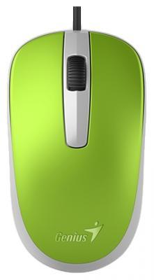все цены на Мышь проводная Genius Genius DX-120 зелёный USB онлайн