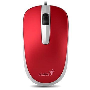 Мышь проводная Genius Genius DX-120 красный USB genius rlb