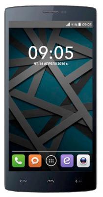 """Смартфон BQ BQS-5502 Hammer черный 5.5"""" 8 Гб Wi-Fi GPS"""