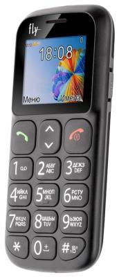 """Мобильный телефон Fly Ezzy 7 черный 1.77"""" 24 Мб"""